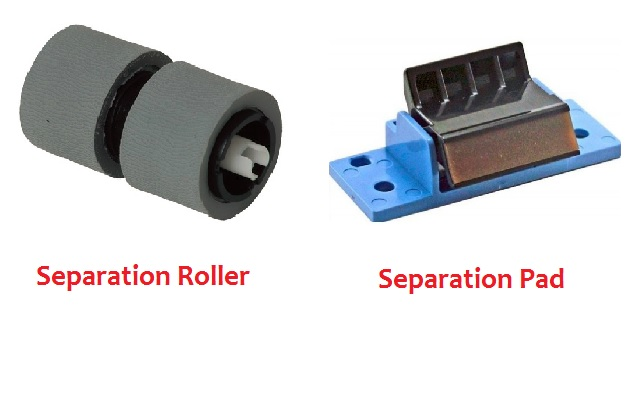 Scanner Cleaning For Begginers - Separation Roller or separation pad
