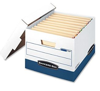 The best archival boxes for books - Picture of the Bankers box Heavy Duty Storage