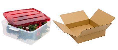 Shipping Boxes For Wreaths - Our choice for shippable wreath boxes