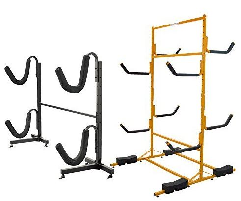 Storage Rack for Kayaks - Freestanding storage Kayak Rack