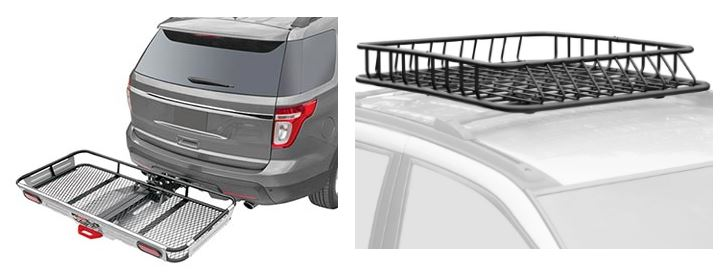 Cargo Baskets for SUV - 3 great solutions for vehicle storage