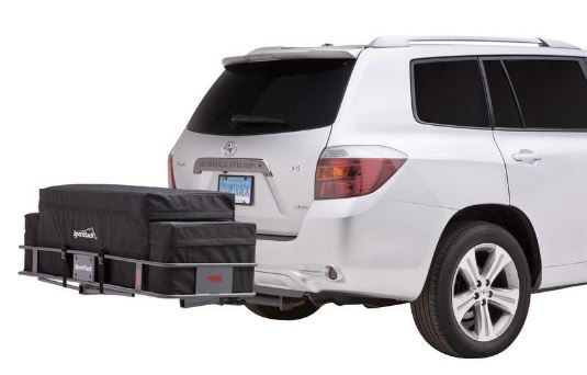 Cargo baskets for SUV - Hitch mounted cargo basket